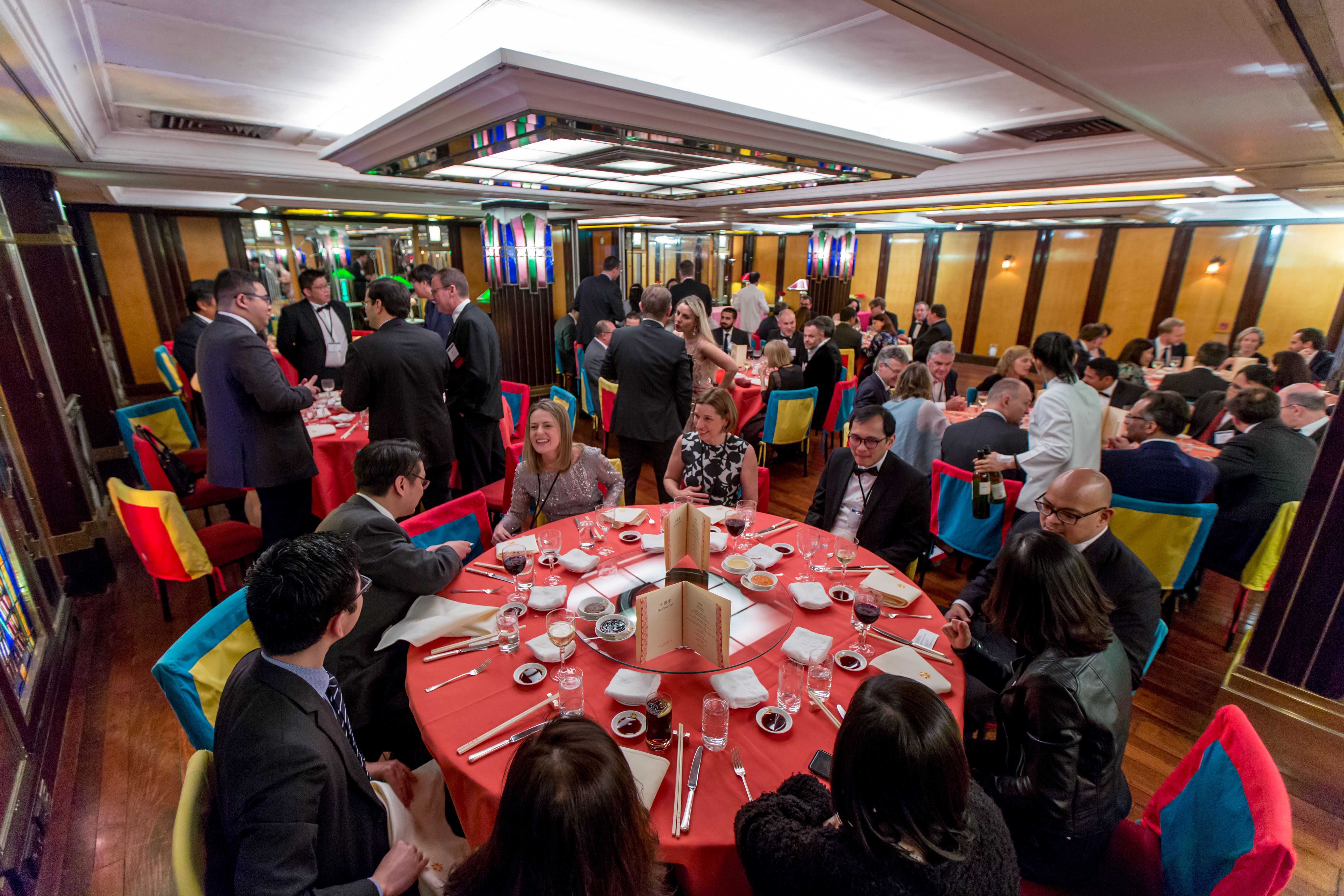 Gala at the China Club of Hong Kong