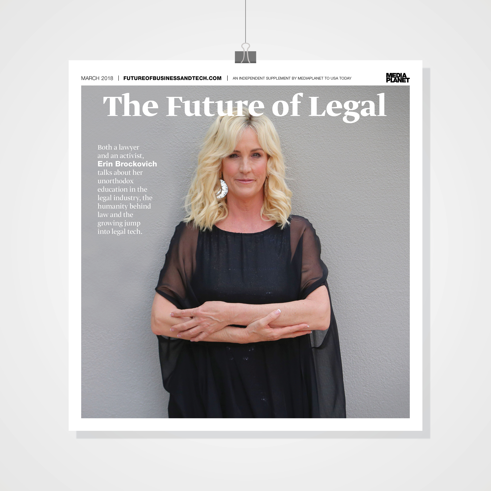 Cover Image of The Future of Legal Publication featuring Erin Brockovich